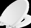 Elongated Slow-Close Toilet Seat