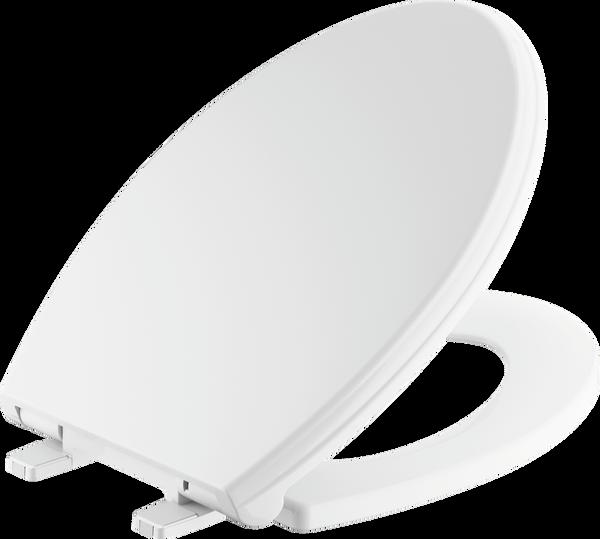 Elongated Slow-Close Toilet Seat, image 2