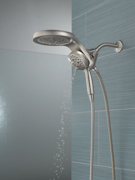 HydroRain® H<sub>2</sub>Okinetic® 5-Setting Two-in-One Shower Head, image 23