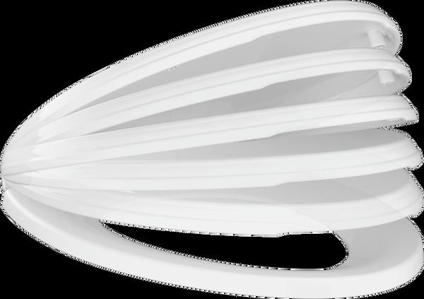 Elongated Slow-Close Toilet Seat, image 3