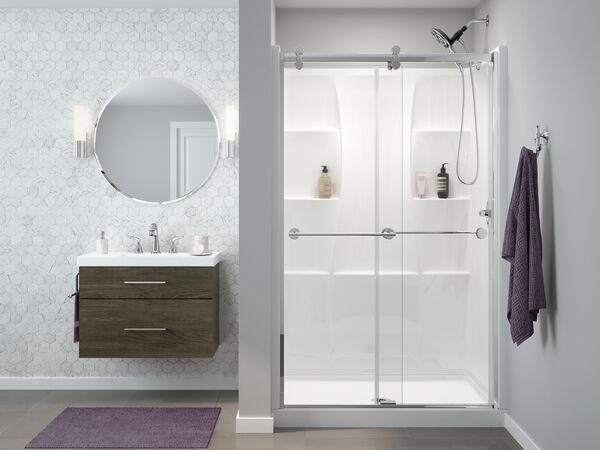 "48"" X 34"" Shower Wall Set, image 4"