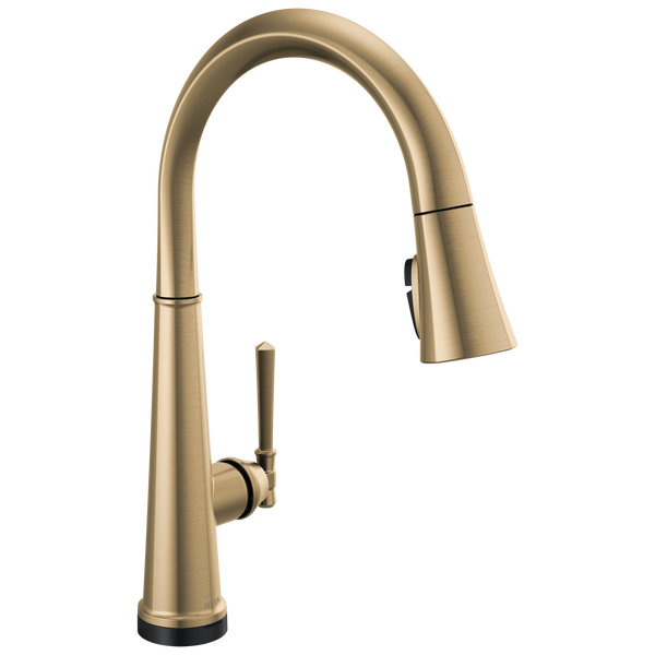 Single Handle Pull Down Kitchen Faucet with Touch2O Technology, image 1