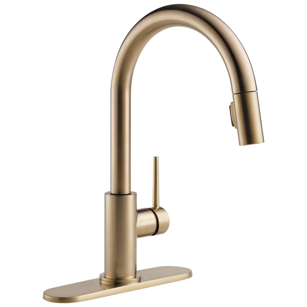 Single Handle Pull-Down Kitchen Faucet (Recertified), image 4