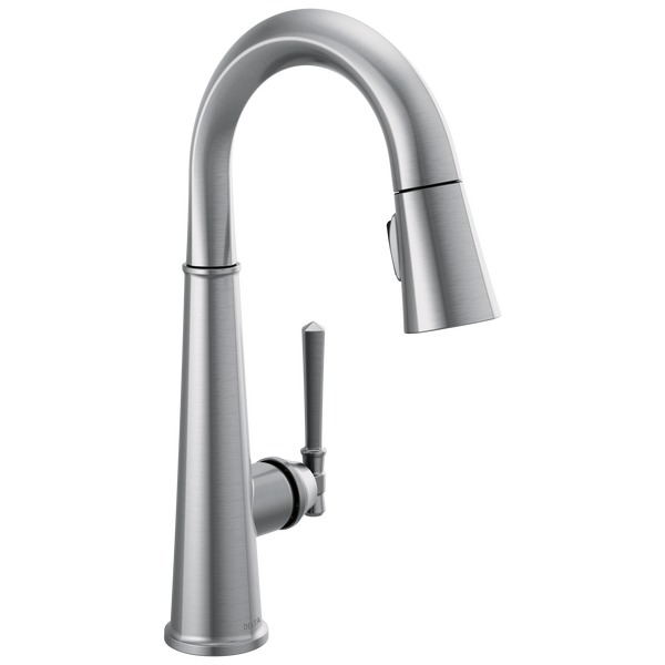 Single Handle Pull Down Bar/Prep Faucet, image 1