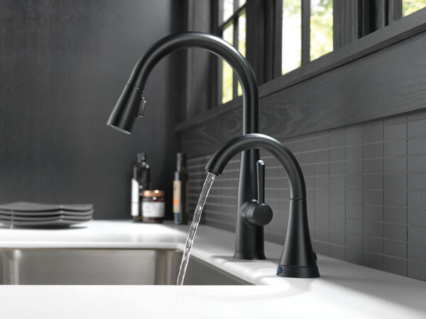 Single Handle Pull-Down Kitchen Faucet with Touch<sub>2</sub>O® Technology, image 5