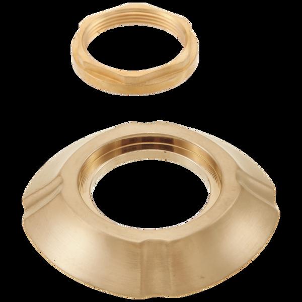 Handle Base, Gasket & Nut - Roman Tub, image 1