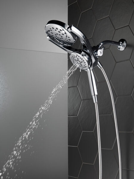 HydroRain® 4-Setting Two-in-One Shower Head, image 16