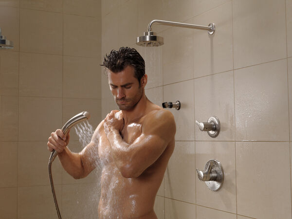 H<sub>2</sub>Okinetic® Single-Setting Raincan Shower Head, image 13