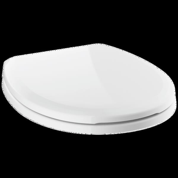 Round Front Slow-Close Toilet Seat, image 1
