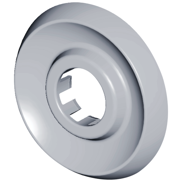 Escutcheon - Round - 2 & 3H Tub & Shower, image 1
