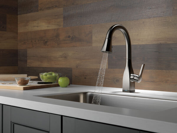 Single Handle Pull-Down Bar/Prep Faucet with Touch, image 7