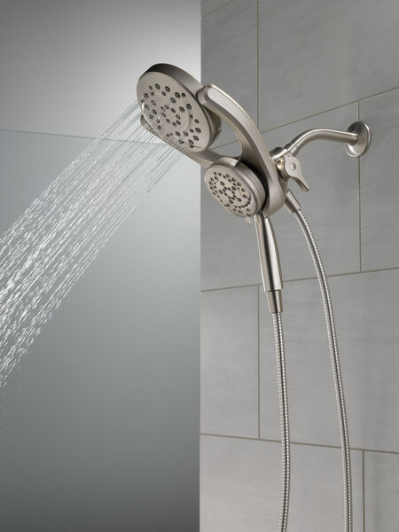 HydroRain® 4-Setting Two-in-One Shower Head, image 13