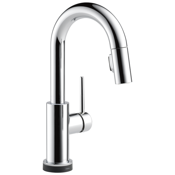Single Handle Pull Down Bar Prep Faucet With Touch2o Technology 9959t Dst Delta Faucet