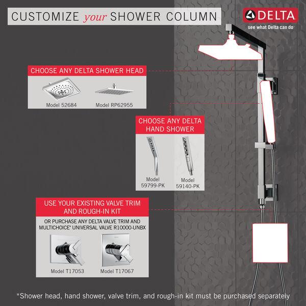 "Shower Column 18"" Angular, image 3"