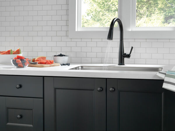 Single Handle Pull-Down Kitchen Faucet with Touch<sub>2</sub>O® Technology, image 17