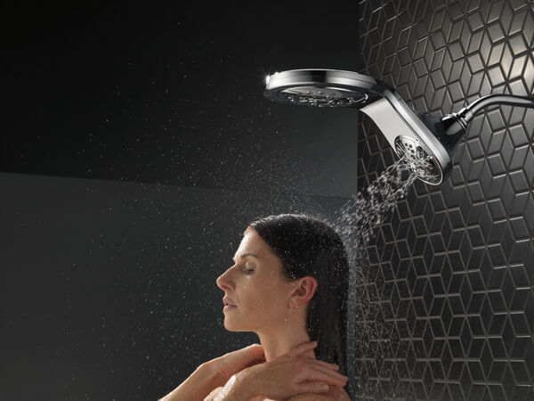 HydroRain® H<sub>2</sub>Okinetic® 5-Setting Two-in-One Shower Head, image 19