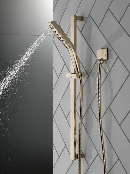 H<sub>2</sub>Okinetic® 3-Setting Slide Bar Hand Shower, image 6