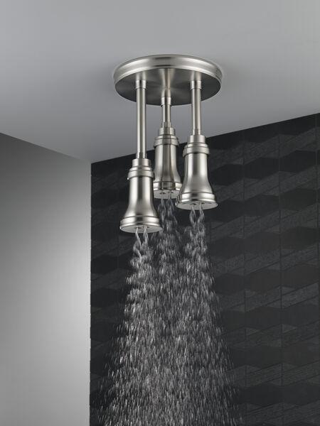 H<sub>2</sub>Okinetic® Pendant Raincan Shower Head, image 4