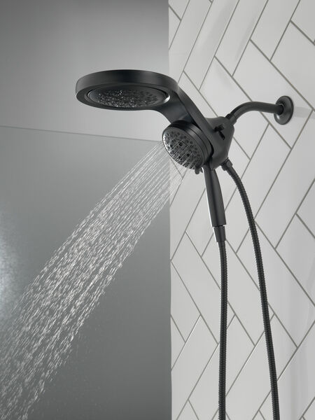 HydroRain® H<sub>2</sub>Okinetic® 5-Setting Two-in-One Shower Head, image 15