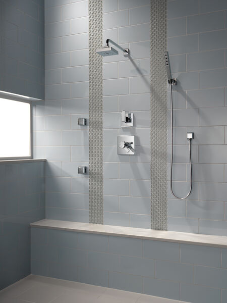 H<sub>2</sub>Okinetic® Single-Setting Raincan Shower Head, image 5
