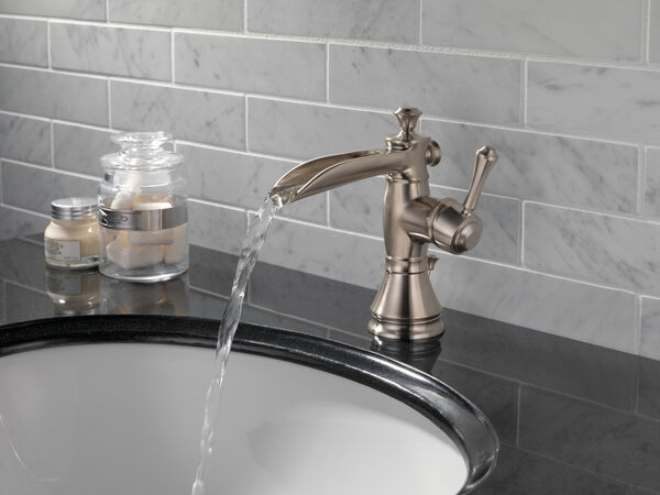 Single Handle Channel Bathroom Faucet, image 4