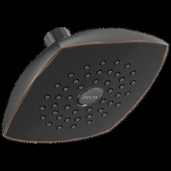 Touch-Clean Raincan Single-Setting Shower Head, image 1