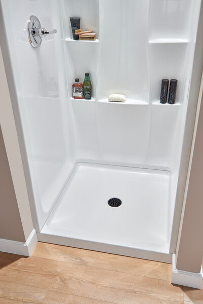 """36"""" X 36"""" Shower Base, image 2"""