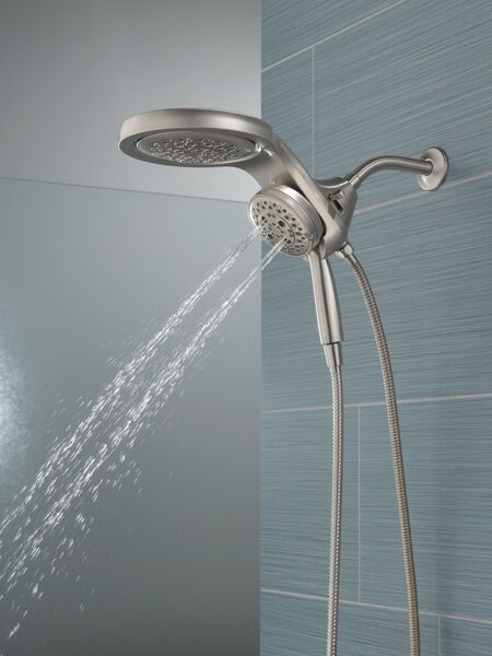 HydroRain® H<sub>2</sub>Okinetic® 5-Setting Two-in-One Shower Head, image 16