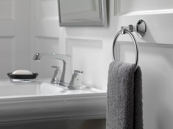 Two Handle Widespread Bathroom Faucet with EZ Anchor®, image 7