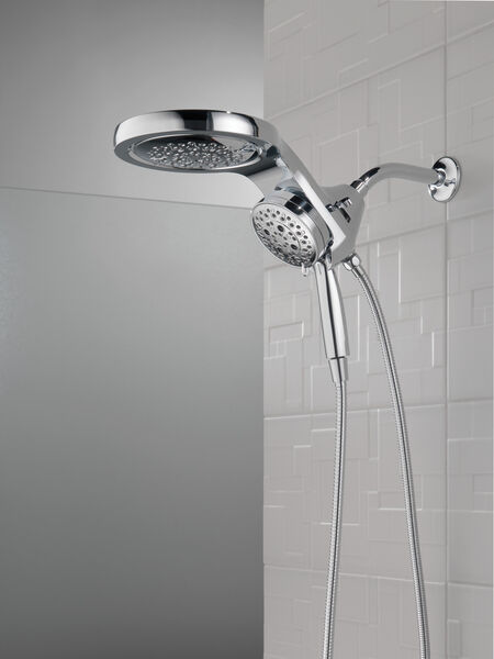 HydroRain® H<sub>2</sub>Okinetic® 5-Setting Two-in-One Shower Head, image 24