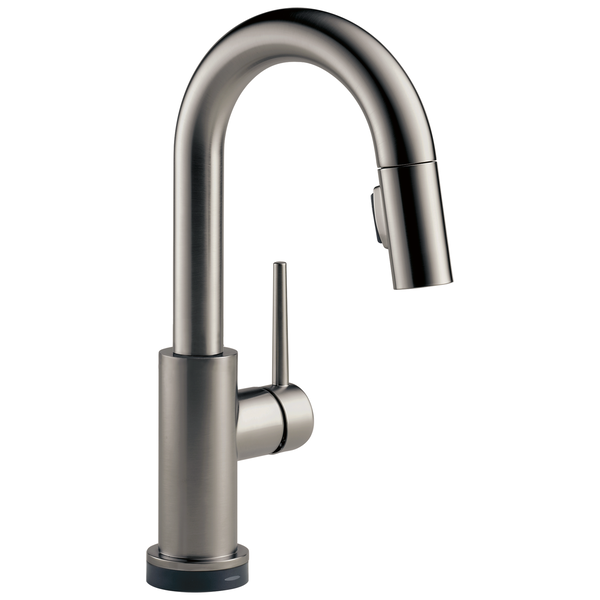 Single Handle Pull Down Bar Prep Faucet With Touch 9959t Ks Dst Delta Faucet