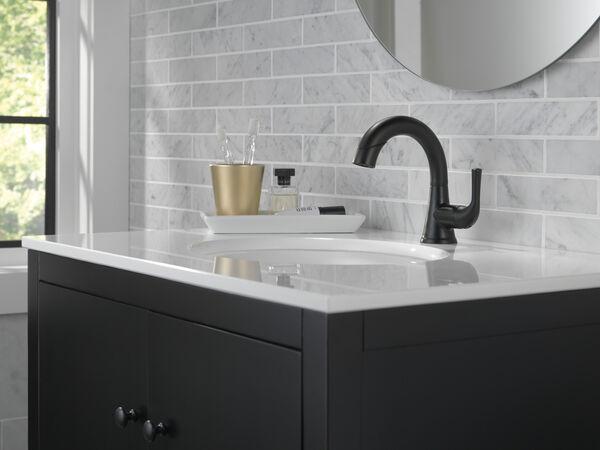 Single Handle Pull-Down Bathroom Faucet, image 13