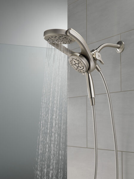 HydroRain® 4-Setting Two-in-One Shower Head, image 15