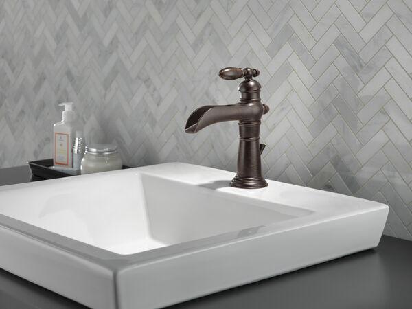 Single Handle Channel Bathroom Faucet, image 2
