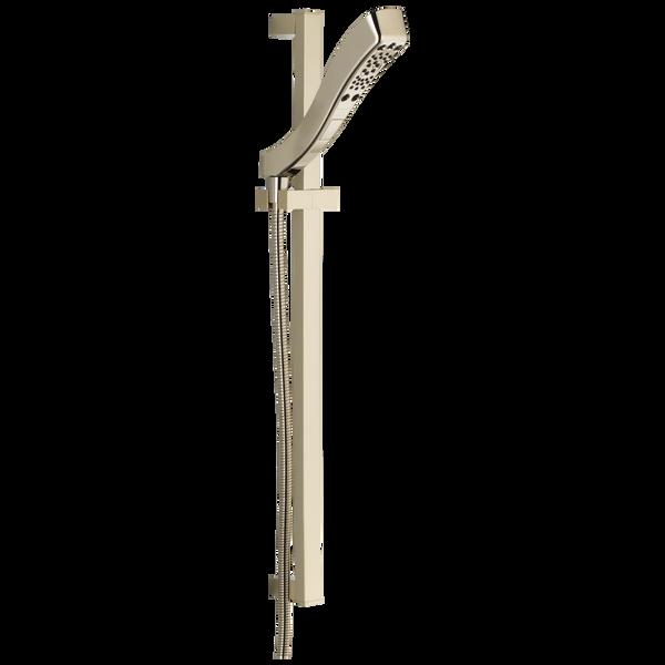 H<sub>2</sub>Okinetic® 4-Setting Slide Bar Hand Shower, image 1