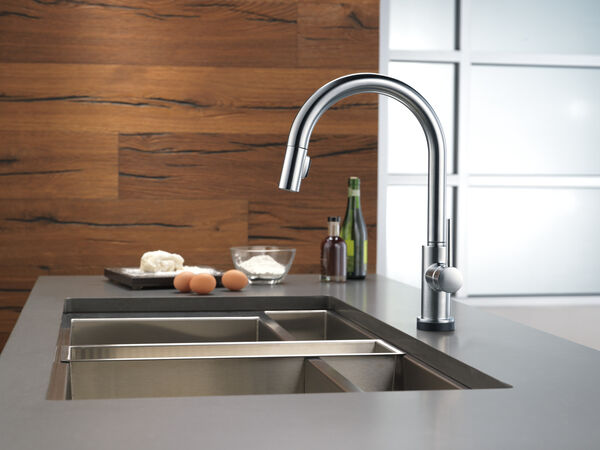 VoiceIQ™ Single-Handle Pull-Down Kitchen Faucet with Touch<sub>2</sub>O® Technology, image 33