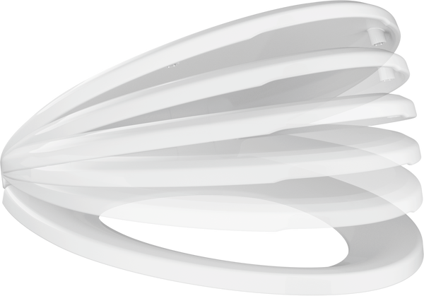 Elongated Slow-Close Toilet Seat, image 3