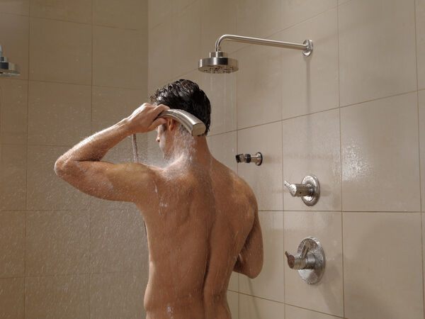 H<sub>2</sub>Okinetic® Single-Setting Raincan Shower Head, image 12