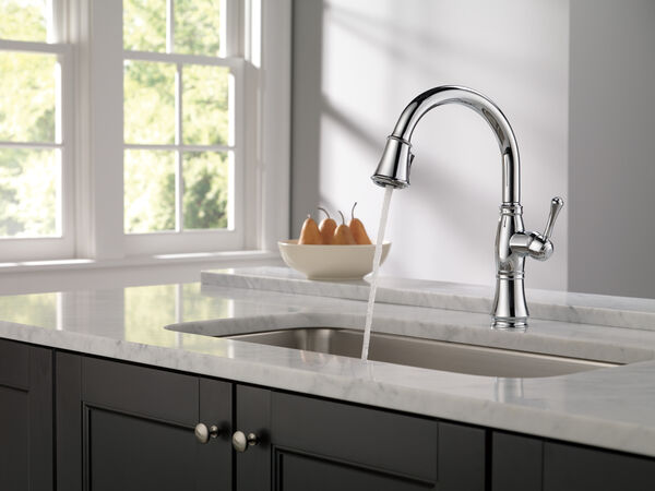 Single Handle Pull-Down Kitchen Faucet with ShieldSpray® Technology, image 10