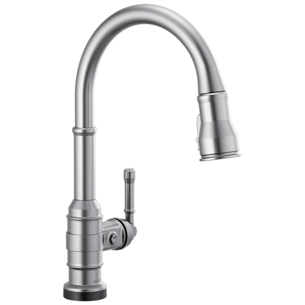 Single Handle Pull-Down Kitchen Faucet With Touch2O Technology, image 1