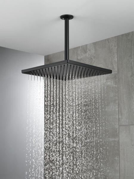 Single-Setting Metal Raincan Shower Head, image 2