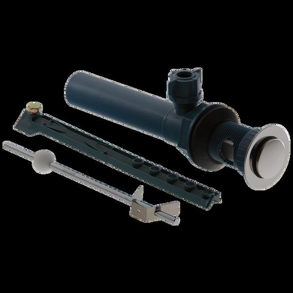 Drain Assembly - Plastic Pop-Up - Less Liftrod - Bathroom, image 1
