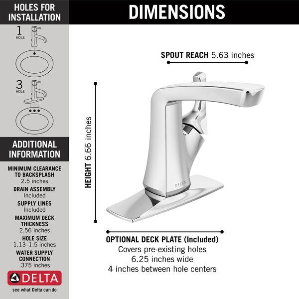 Single Handle Centerset Bathroom Faucet 15789lf Delta Faucet