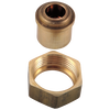 Coupling Nuts & Tailpieces (2) - 2 or 3H Tub & Shower