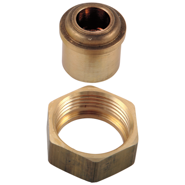 Coupling Nuts & Tailpieces (2) - 2 or 3H Tub & Shower, image 1