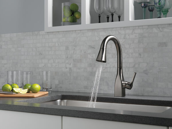 Single Handle Pull-Down Bar/Prep Faucet, image 4