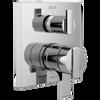 Angular Modern Monitor® 17 Series Valve Trim with 3-Setting Integrated Diverter