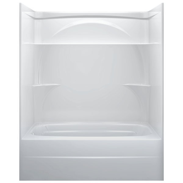 One Piece Tub Shower Left Drain, 1 Piece Fiberglass Tub Shower