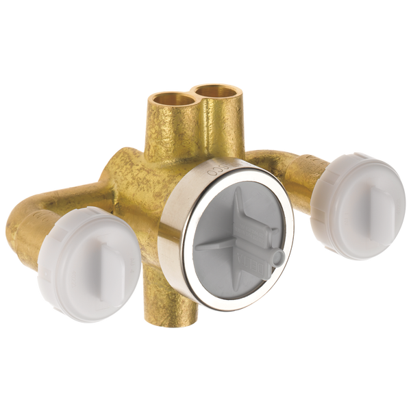 Jetted Shower™ XO® Diverter Rough, image 1