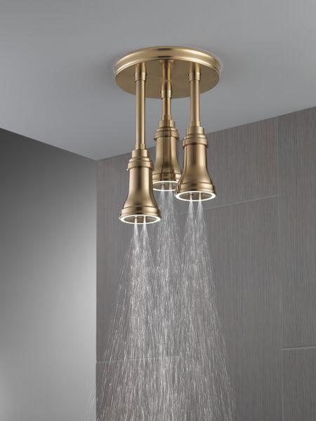 H<sub>2</sub>Okinetic® Pendant Raincan Shower Head with LED Light, image 6